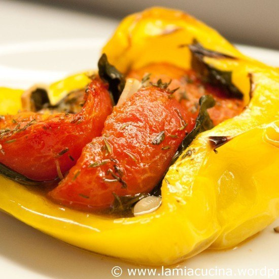 Rezept Paprika Piemonteser Art