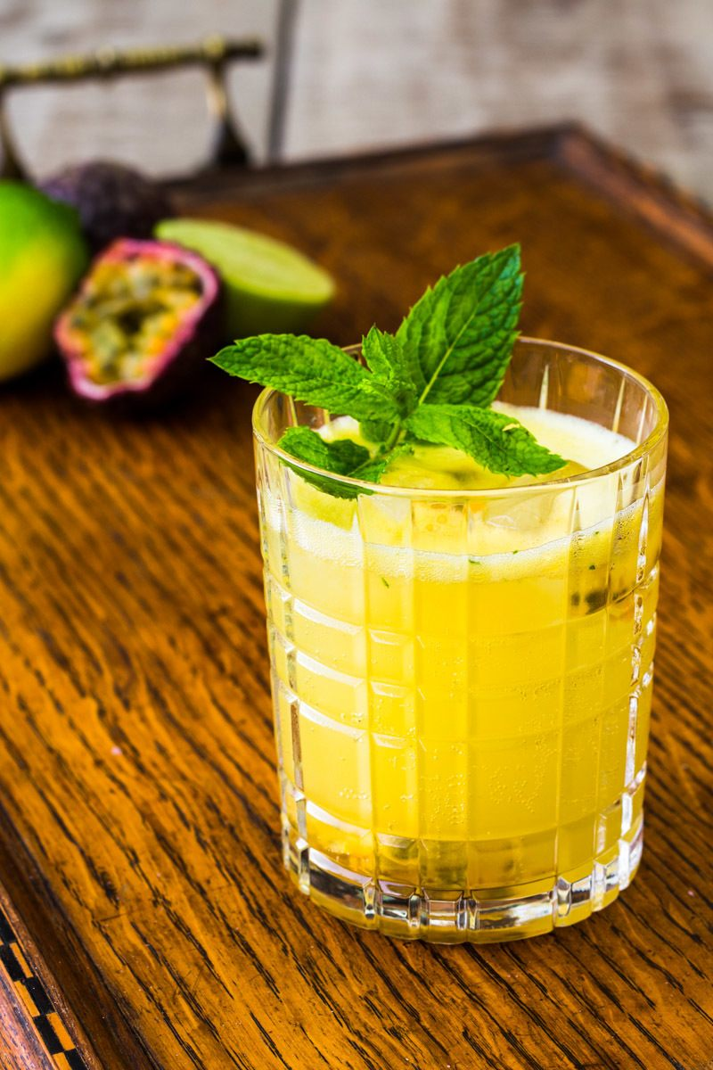 Rezept Passionsfrucht Gin Gin Mule