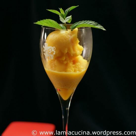 Rezept Passionsfruchtsorbet