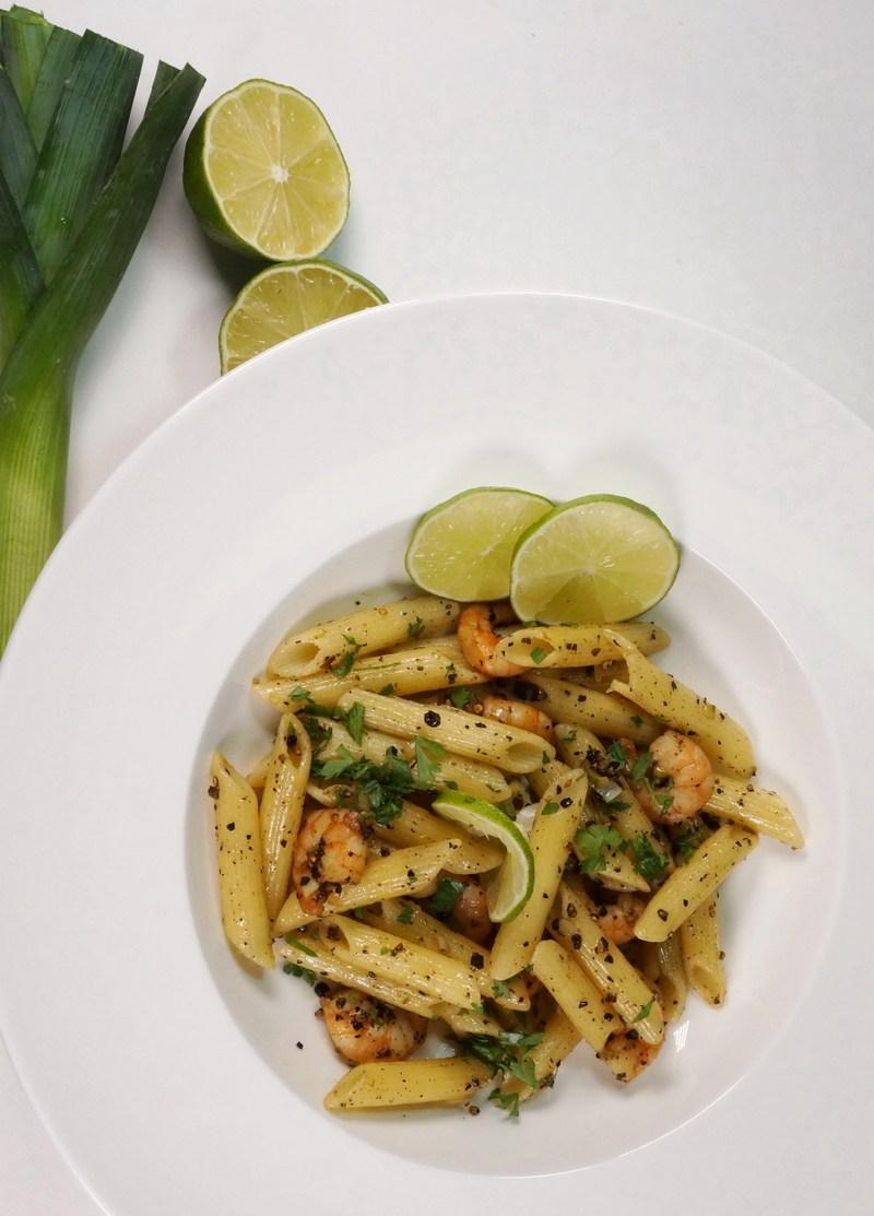 Rezept Pasta auf kambodschanische Art mit Black Kampot Pepper & Shrimps