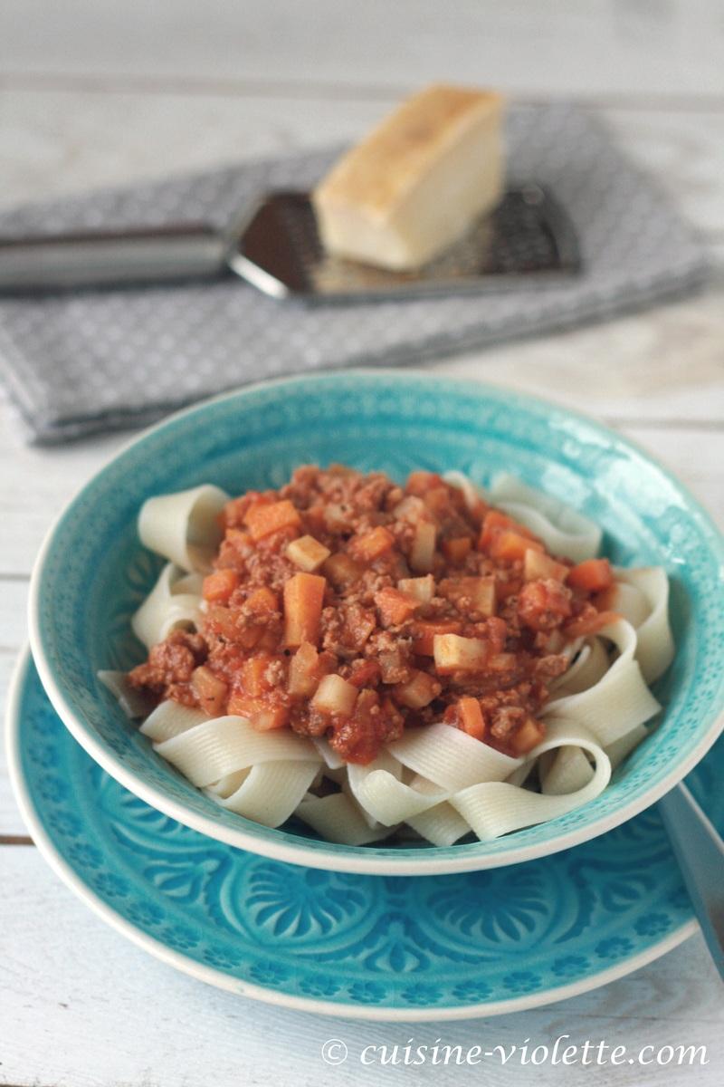 Rezept Pasta Bolognese