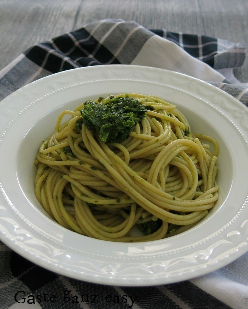 Rezept Pasta mit Gremolata-Pesto