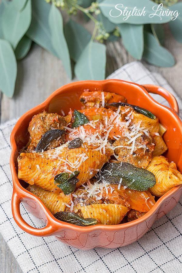 Rezept  Pasta mit Hackbällchen, Gemüse und Tomatensauce