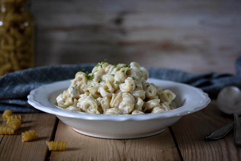 Rezept Pasta mit leichter Blumenkohlsauce