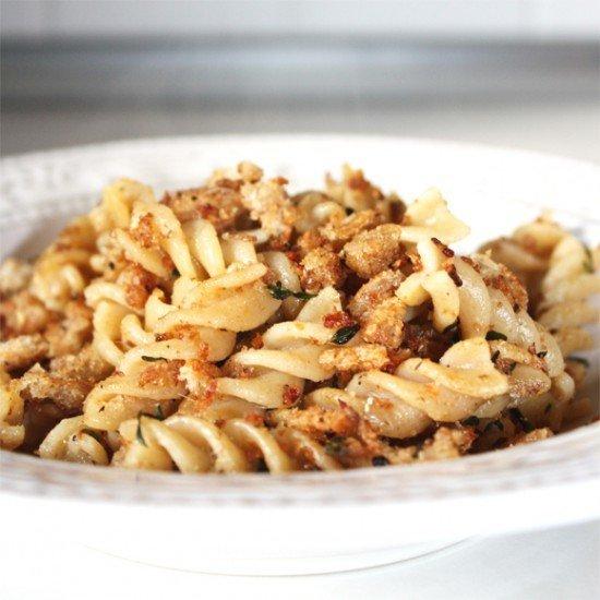 Rezept Pasta mit Pangrattato