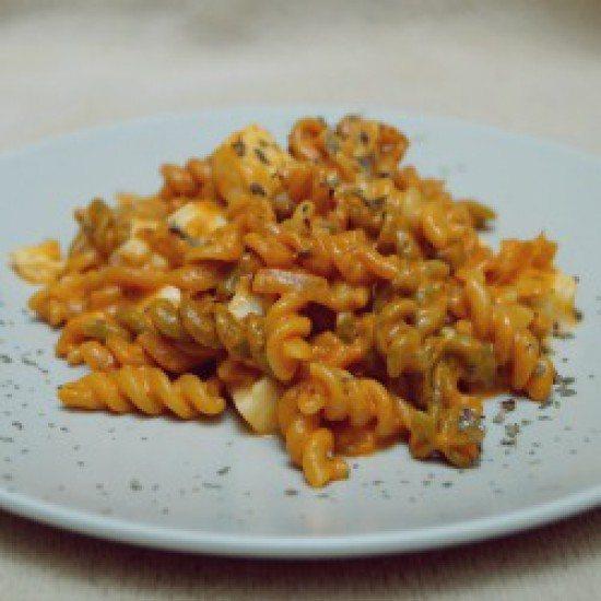 Rezept Pasta mit Tomaten-Mozzarella-Soße