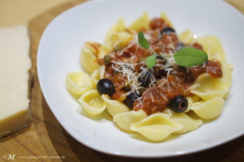 Rezept Pasta Puttanesca