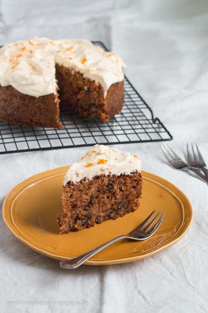Rezept Pastinakenkuchen mit Pekannuss, Orange und Anis