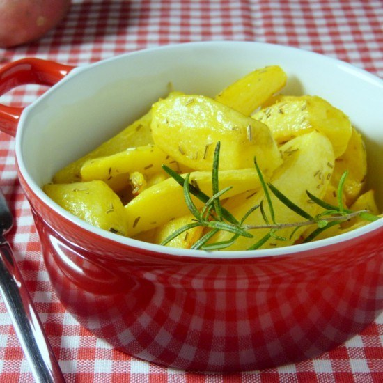 Rezept Patate al rosmarino