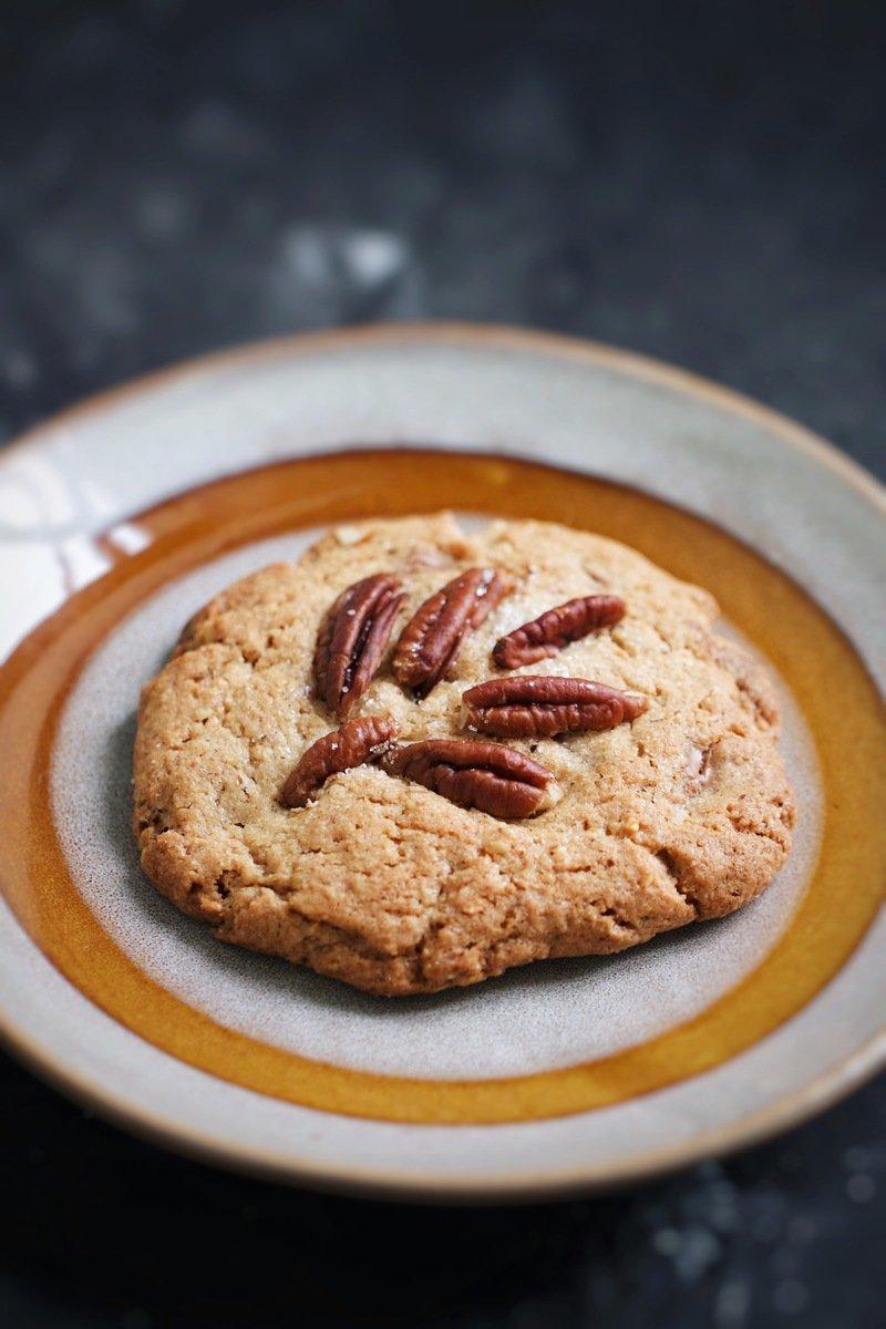 Rezept Pecan-Schoko Cookies