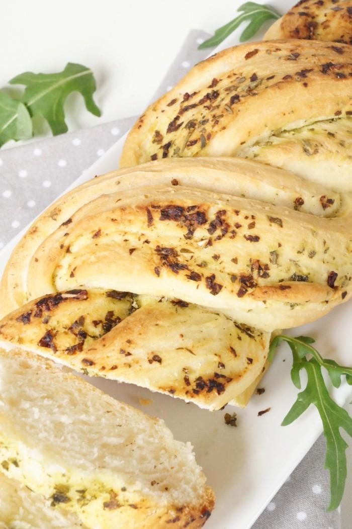 Rezept Pesto Baguette