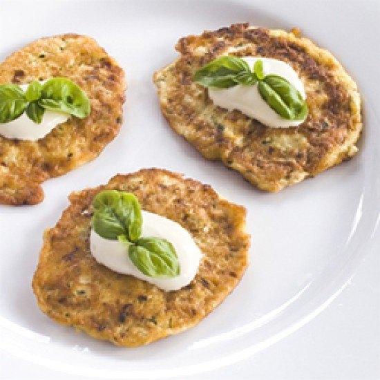 Rezept Pfannkuchen mit Zucchini