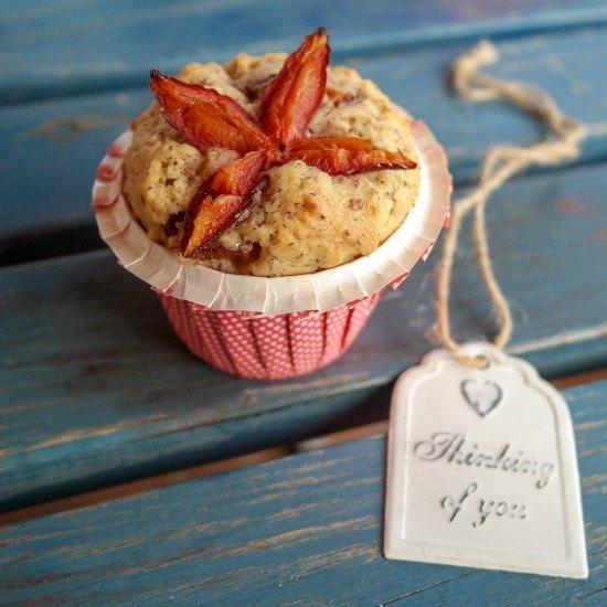 Rezept Pflaumen-Haselnussmuffins