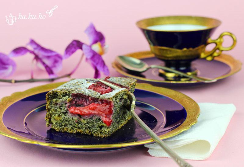 Rezept Pflaumen-Mohnkuchen
