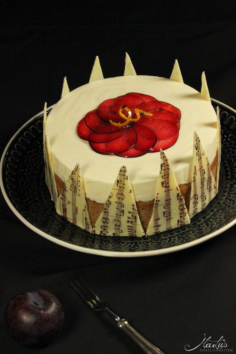 Rezept Pflaumen-Orangen Torte