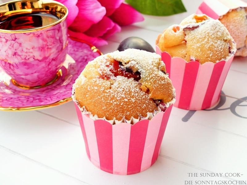 Rezept Pflaumen-Zimt Muffins