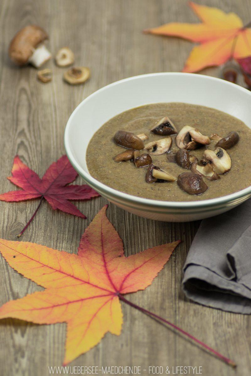 Rezept Pilzsuppe mit Champignons und Shitake
