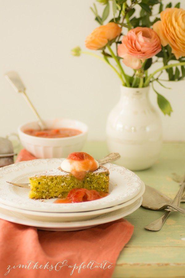 Rezept Pistazien-Kokos-Tarte mit Vanille-Sahne