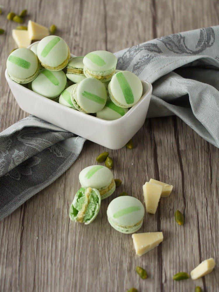 Rezept Pistazien-Macarons