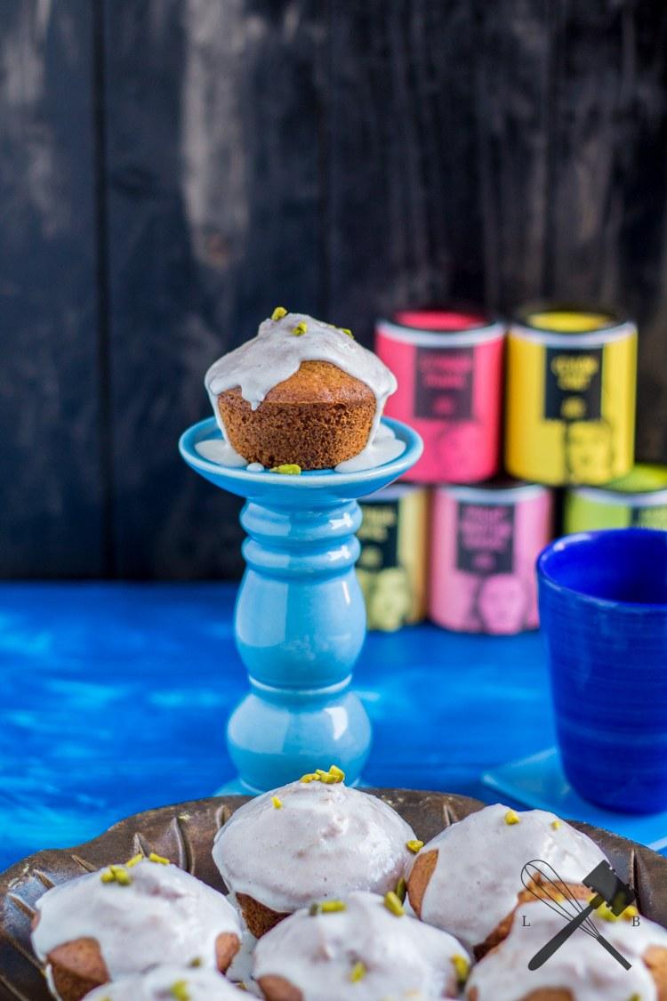Rezept Pistazien Zitronen Muffins mit Gewürzen