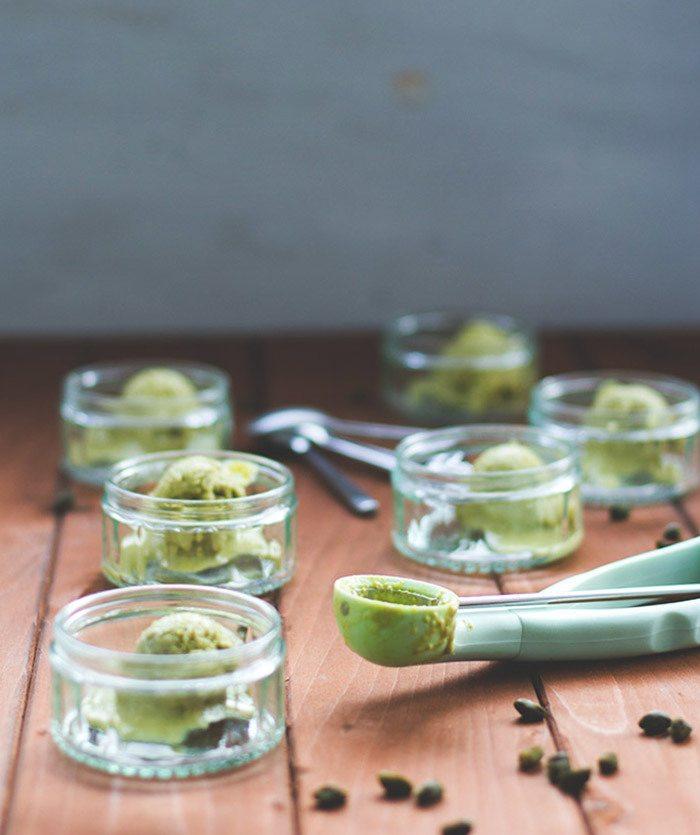 Rezept Pistazieneis aus Mias süße Kleinigkeiten