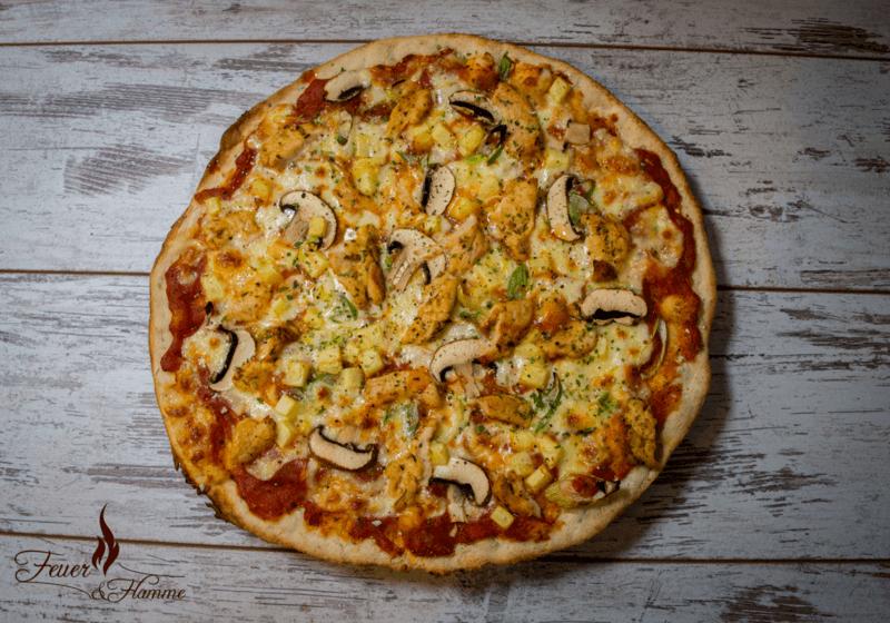 Rezept Pizza Hawaii à la Feuer & Flamme