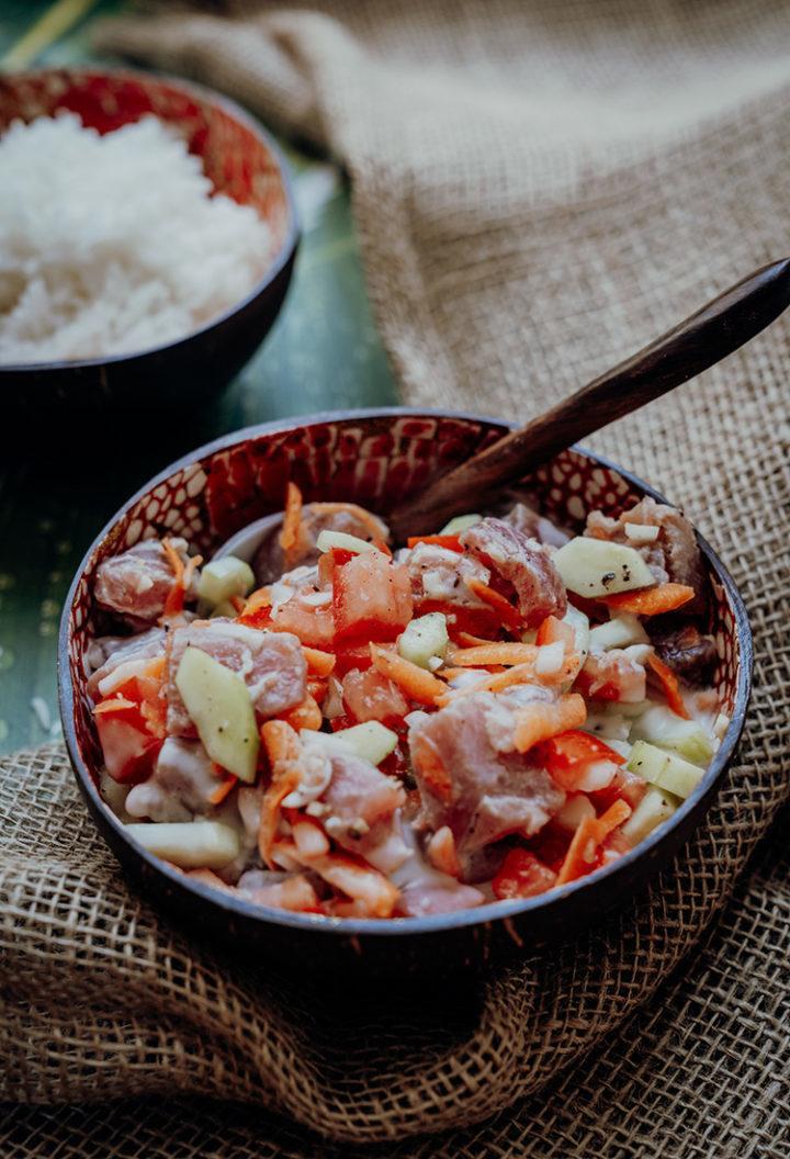 Rezept Poisson cru à la Tahitienne – Rezept aus Tahiti