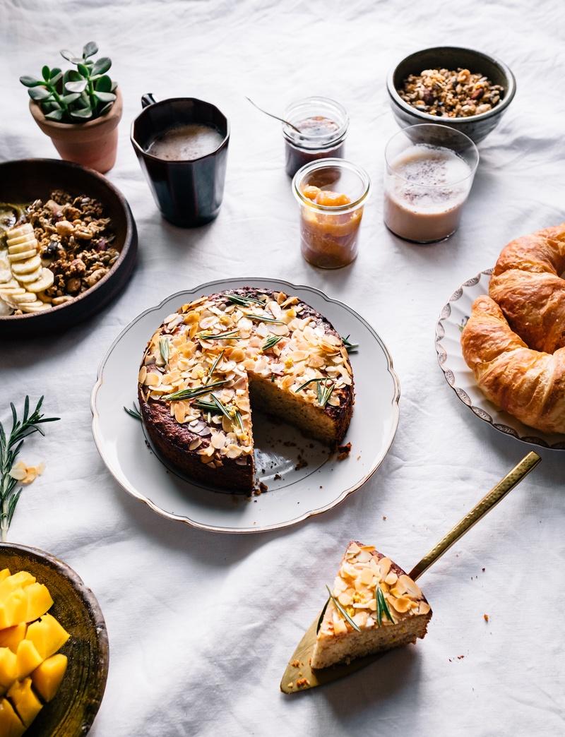 Rezept Polenta Zitronen Ricotta Kuchen