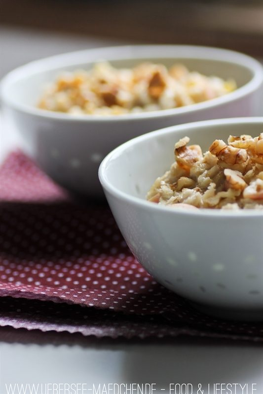 Rezept Porridge zum Frühstück