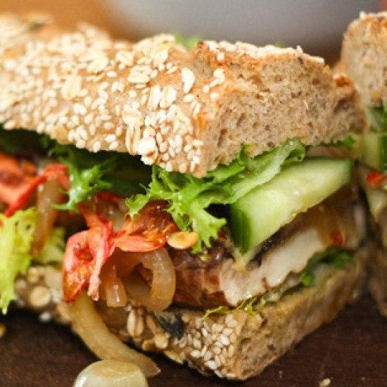 Rezept Portobello Sandwich