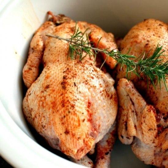 Rezept Poularde aus dem Slow Cooker