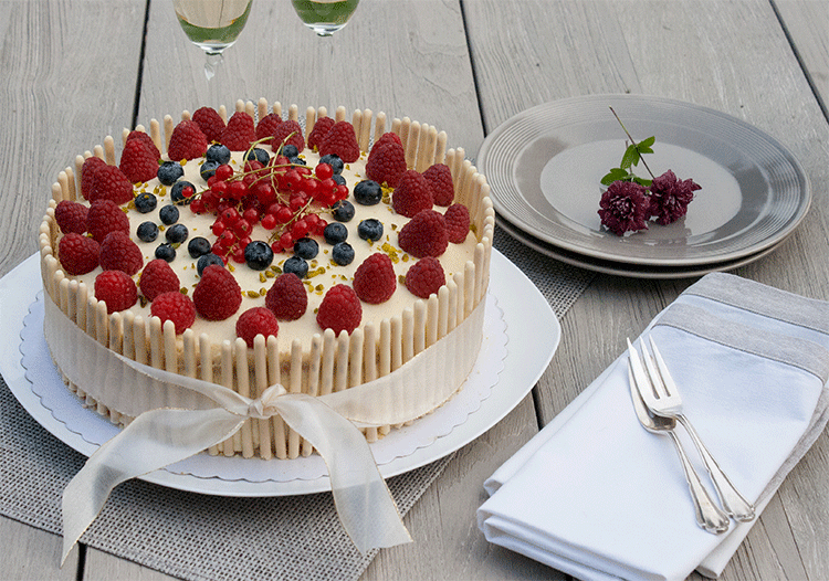 Rezept Prosecco Torte