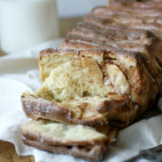 Rezept Pull-Apart-Bread mit Apfel und Zimt