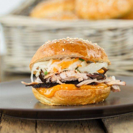 Rezept Pulled Pork Burger Sous-Vide