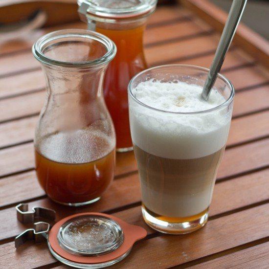 Rezept Pumkin Spice Syrup und Pumpkin Spice Latte