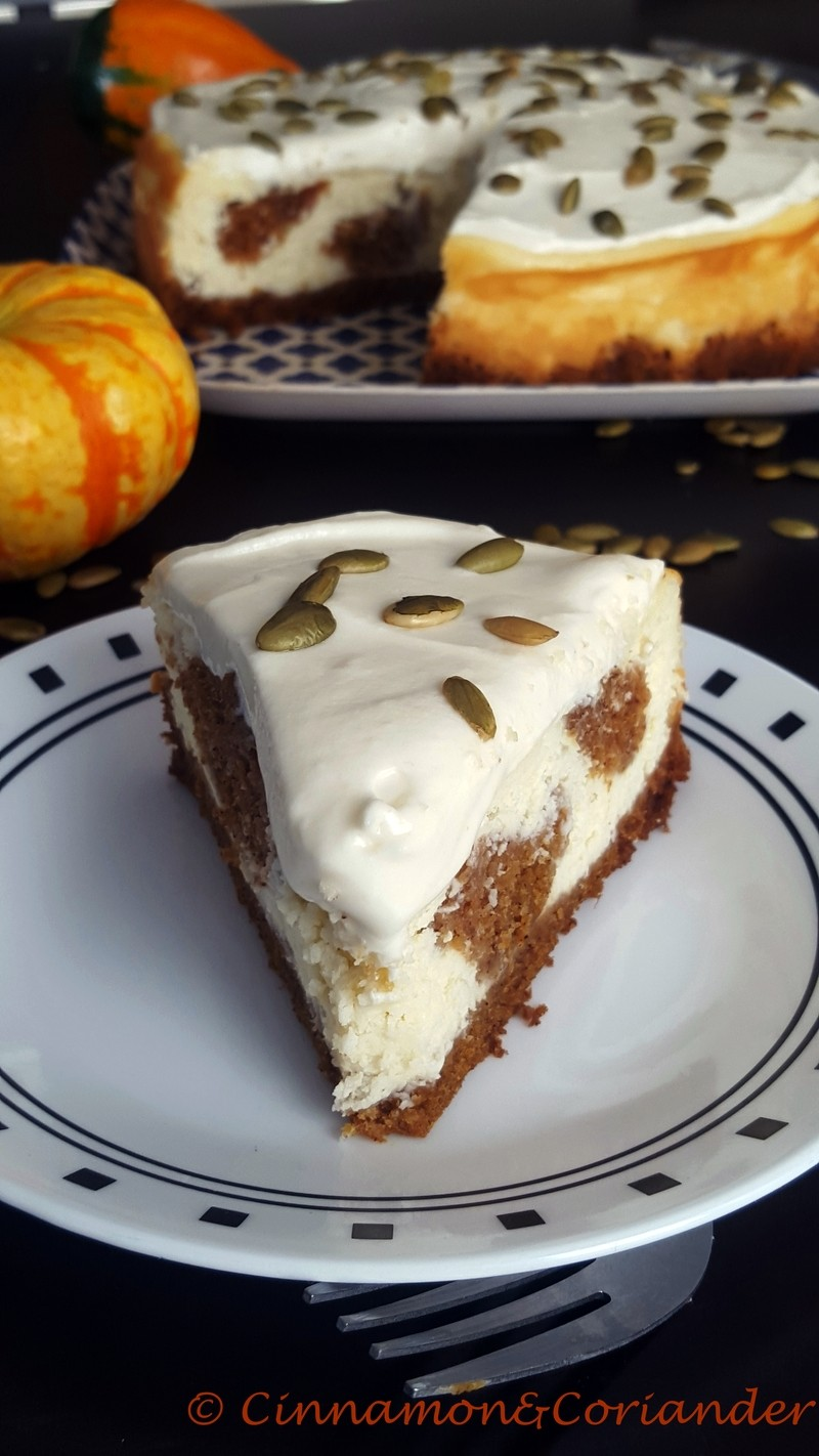Rezept Pumpkin Cake Cheesecake