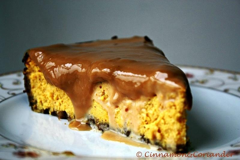 Rezept Pumpkin Cheesecake mit Dulce de Leche