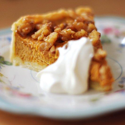 Rezept Pumpkin Pie - Amerikanischer Kürbiskuchen