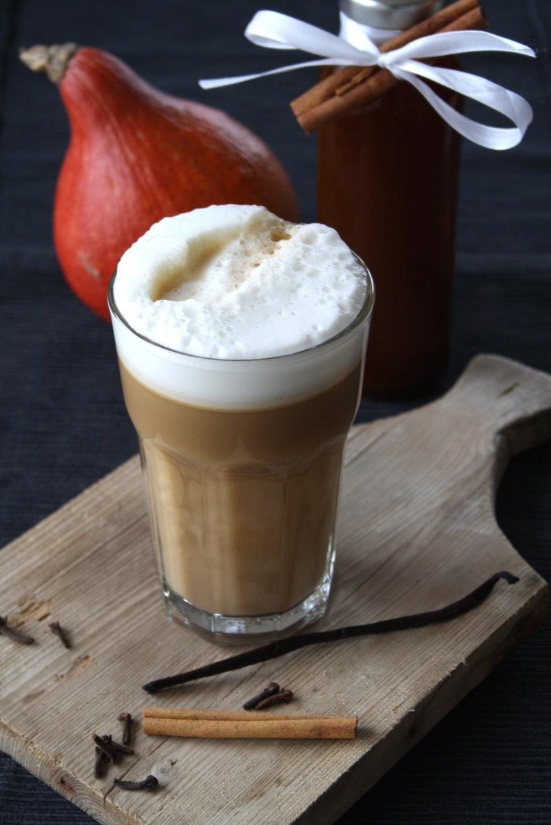 Rezept Pumpkin Spice Sirup