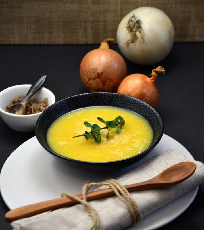 Rezept Pürierte Zwiebelsuppe