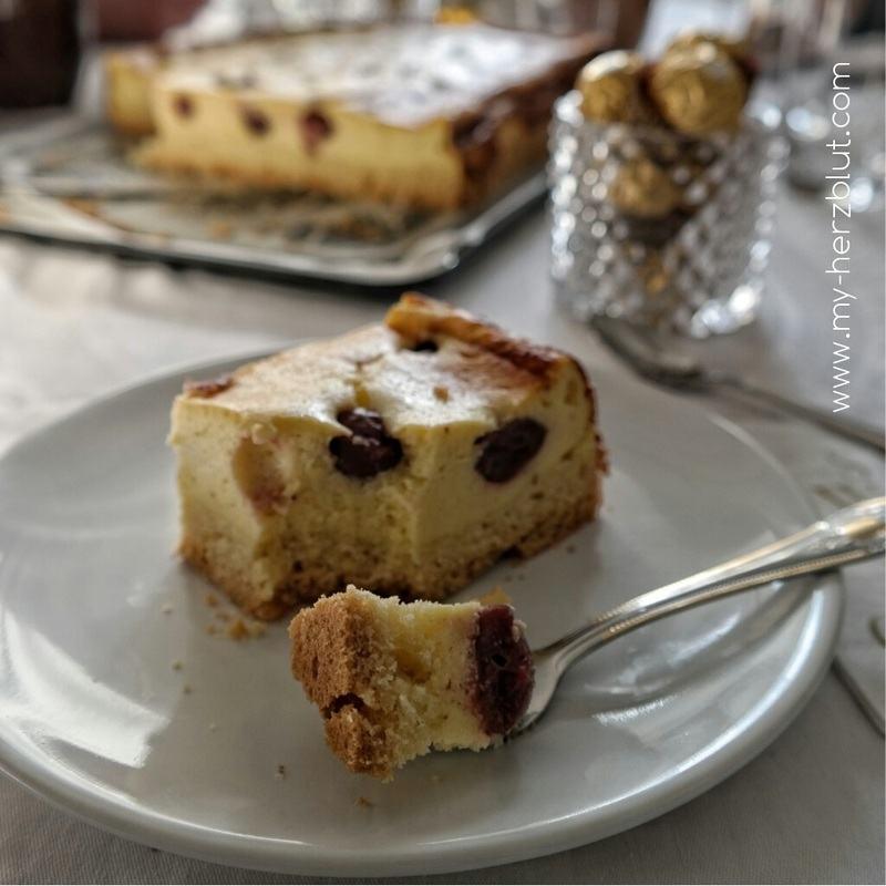 Rezept Quarkkuchen mit Vanille x Eierlikör