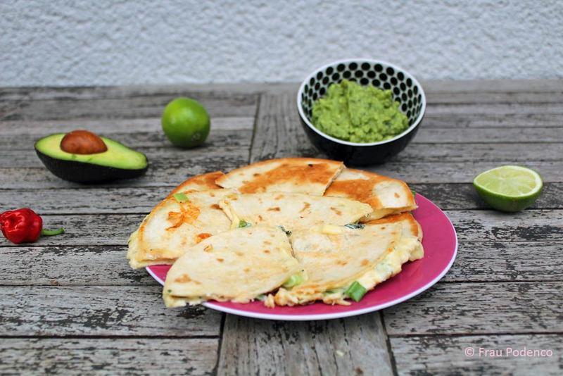 Rezept Quesadillas mit Guacamole