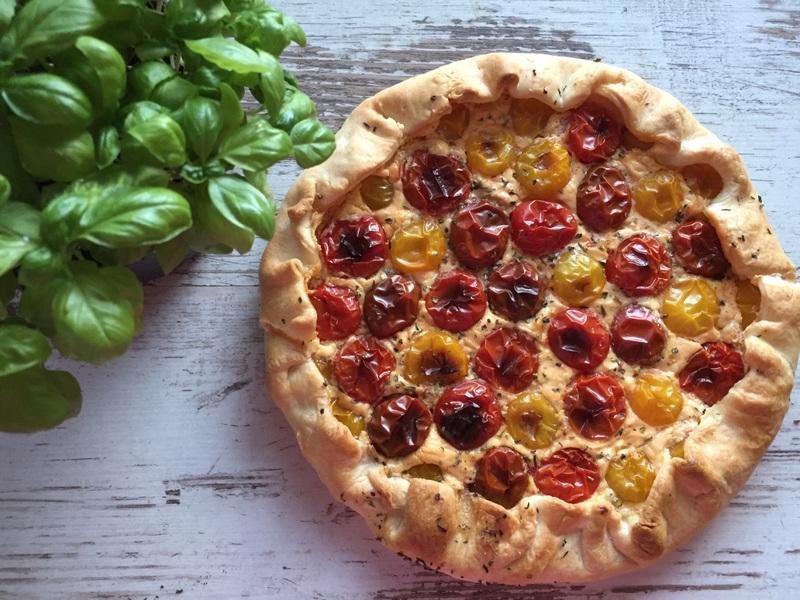 Rezept Quiche mit Tomaten, Ricotta & Bresso