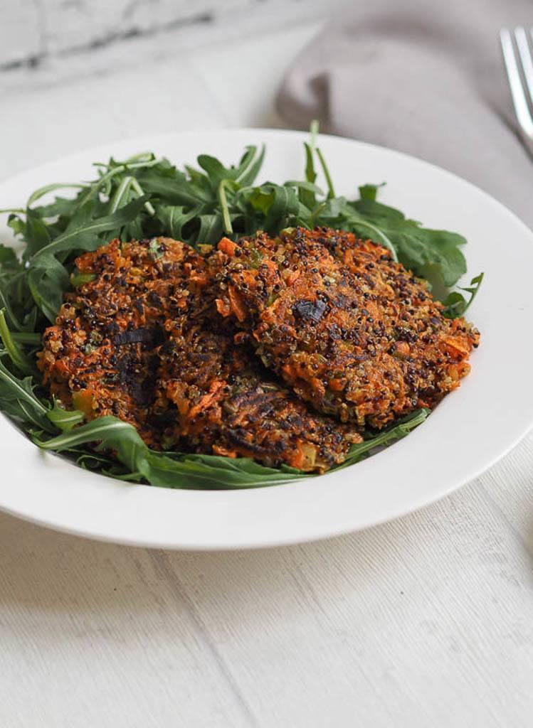 Rezept Quinoa-Karotten-Laibchen