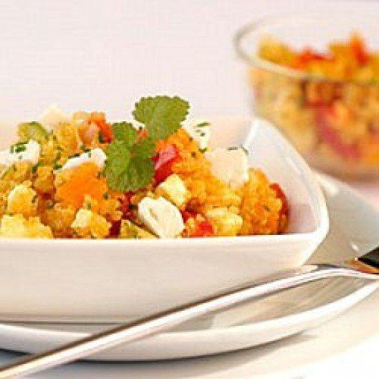 Rezept Quinoa-Kürbis-Salat mit Feta