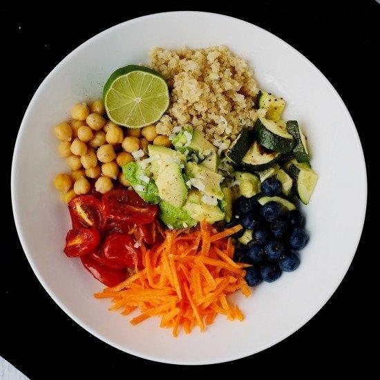 Rezept Quinoa-Salat
