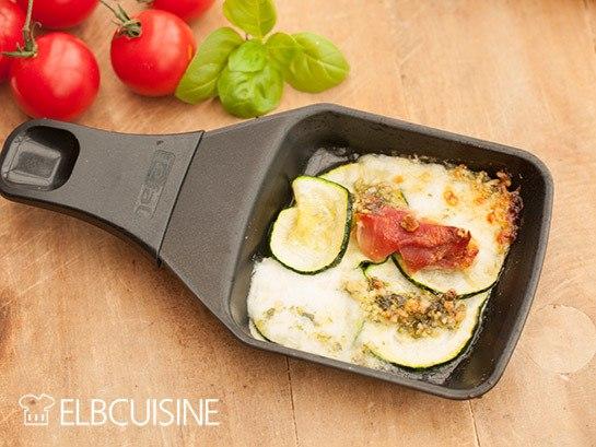 Rezept Raclette-Inspirationen und ein Rezept für Basilikum-Senf-Pesto