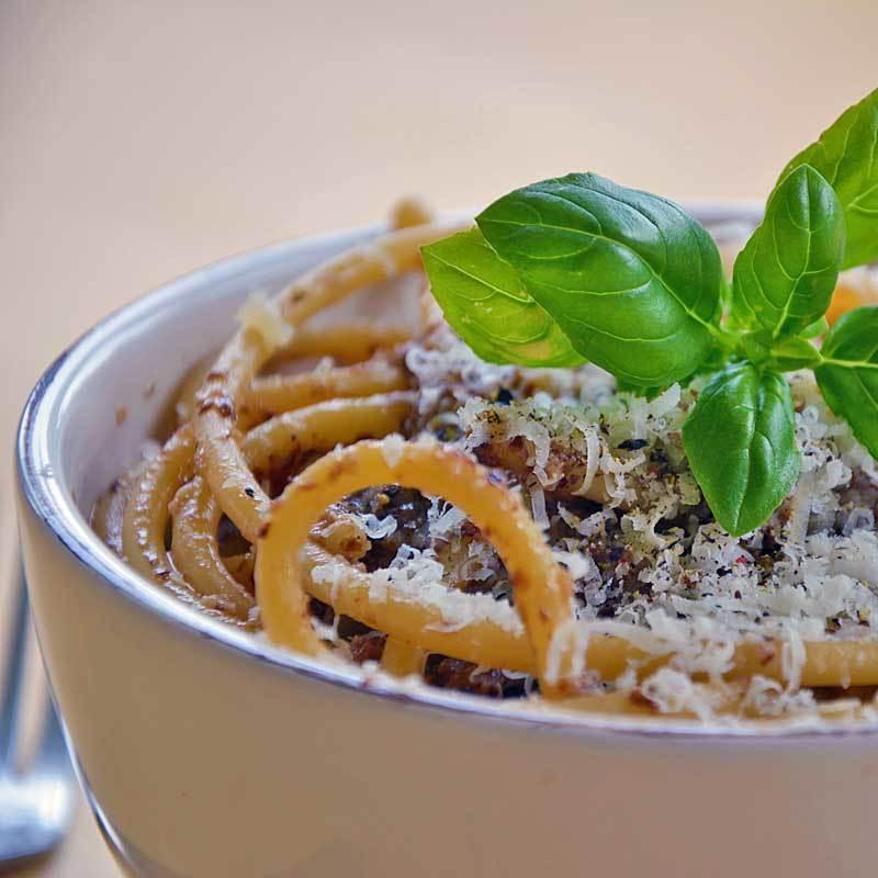 Rezept Radicchio-Pesto mit Mandeln