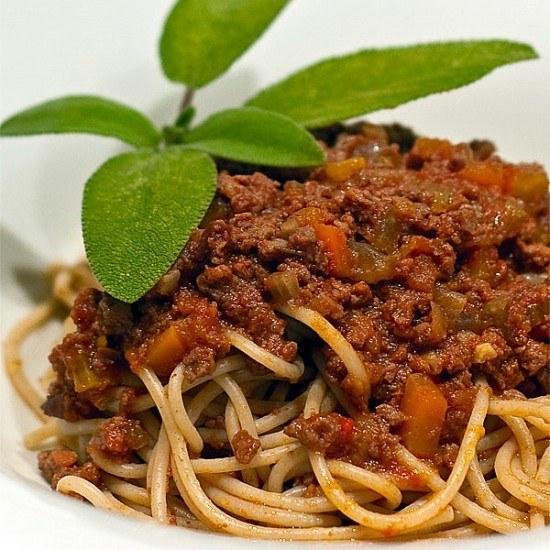Rezept Ragù alla bolognese mit Wildfleisch