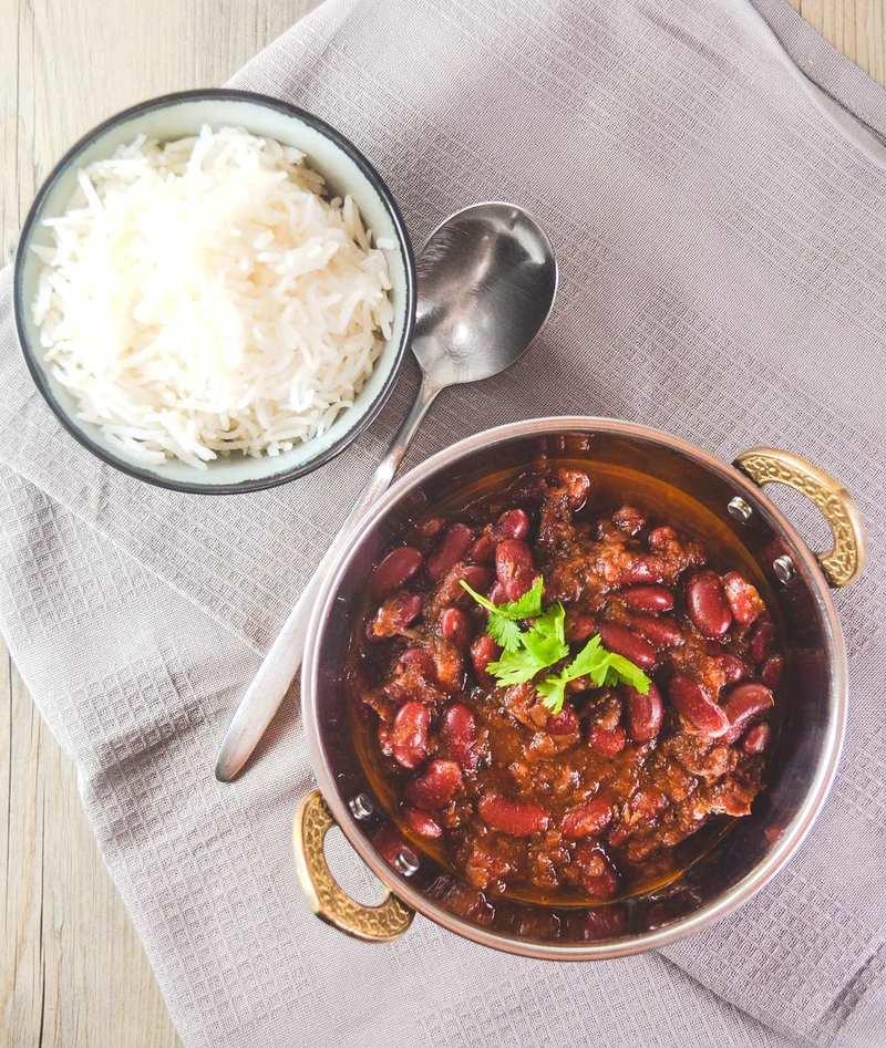 Rezept Rajma masala – indisches Kidneybohnen-Curry